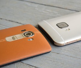 Comparison between LG G4 and HTC One M9