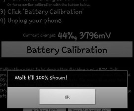 Calibrate The Battery Of An Android Device