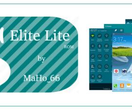 Use S5 Elite Lite ROM