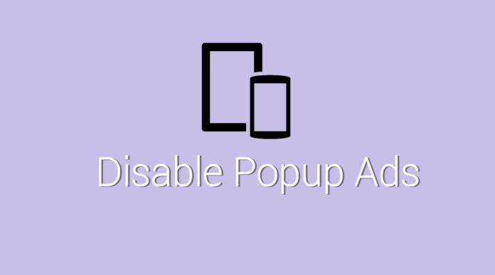 Popup Ads On Your Android Device