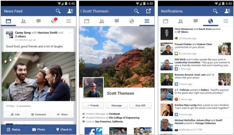 Facebook apk for android 2.3.6 free download
