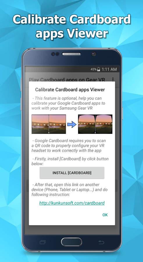 Play Cardboard apps on Gear VR Apk