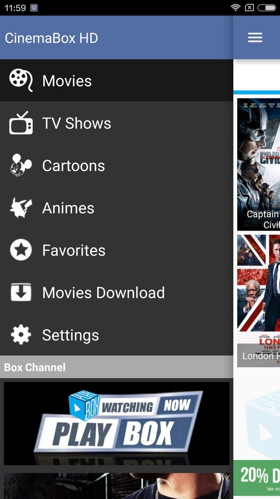 Cinema Box HD Apk Download For Android