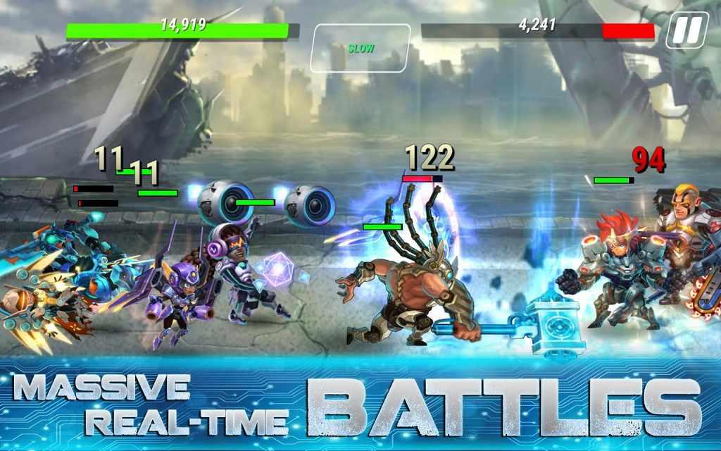 Heroes Infinity God Warriors Mod Apk