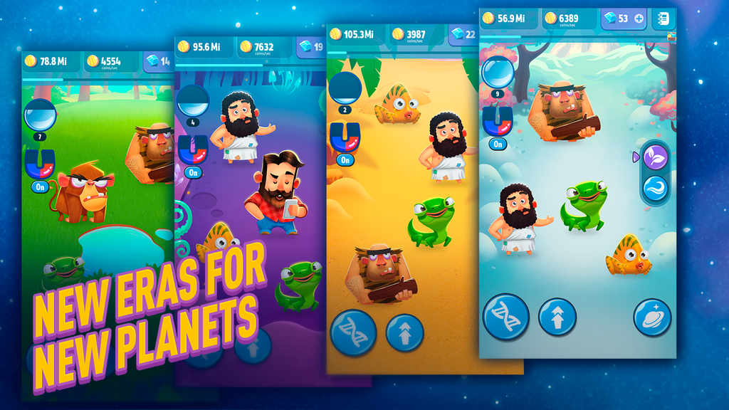 Human Evolution Clicker Game Rise of Mankind Mod Apk