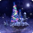 Christmas Snow Fantasy Live Wallpaper Full Apk v1.28 Full