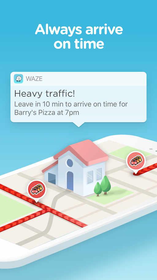 Waze - GPS, Maps, Traffic Alerts & Live Navigation Apk