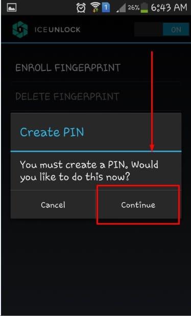 برنامج قفل التطبيقات بالبصمه