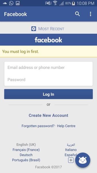 تحميل فيس بوك فريندلي للاندرويد والآيفون