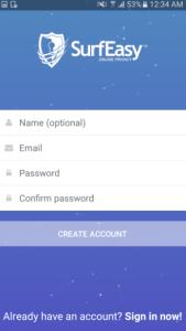 تحميل SurfEasy Secure Android VPN