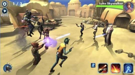 Star Wars Galaxy of Heroes 2017