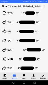 أفضل تطبيق لمعرفة حالة الطقس