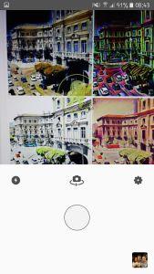 Fotocamera androidare prisma