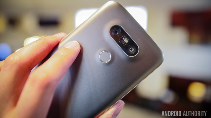 The LG G5 has two cameras.
