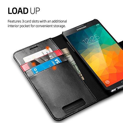 Spigen Premium Wallet Case for Galaxy Note 5