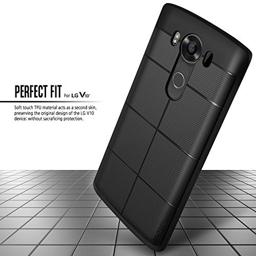 Obliq Flex Pro Bumper Protective Case for LG V10