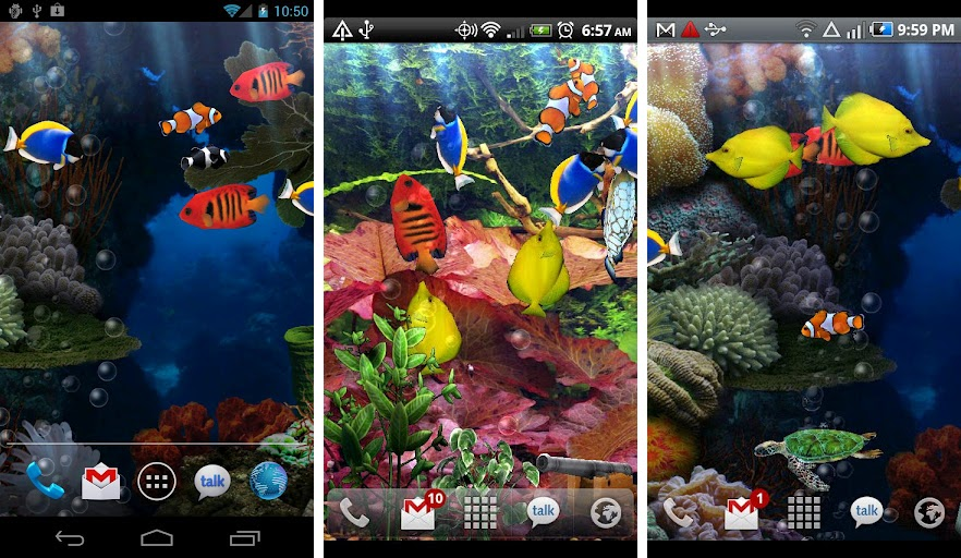 Can You Get Moving Wallpapers For Iphone X Best Aquarium And Fish Live Wallpapers For Android