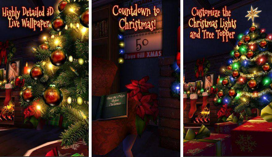 Free Live Christmas Wallpaper For Iphone Best Paid Live Wallpapers For Android Tablets Android
