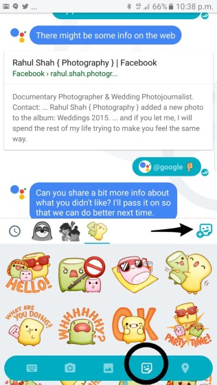 Google Allo Sticker Packs