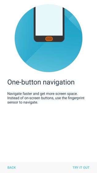 Moto One Button Nav