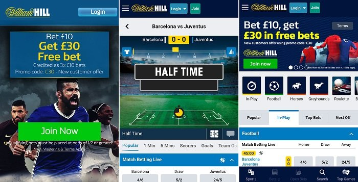 Full review - William Hill Android app