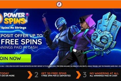 Power spins app