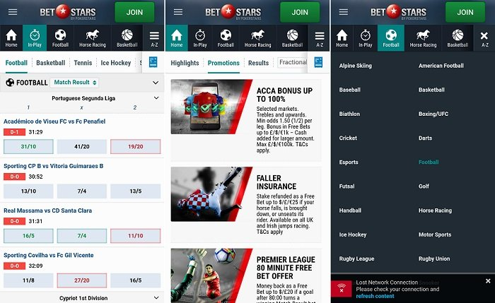 Android app - BetStars