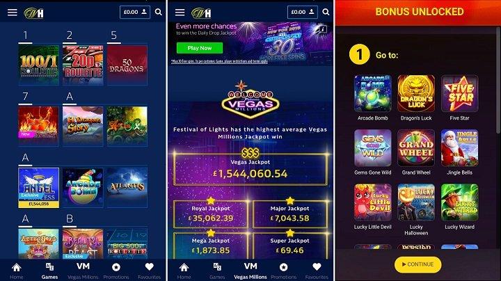 William Hill Vegas app