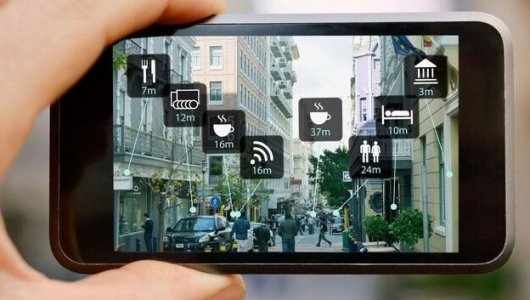 Augmented reality phone app