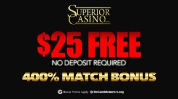 Superior Casino bonuses