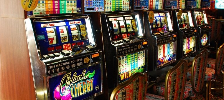 Slots in a casino