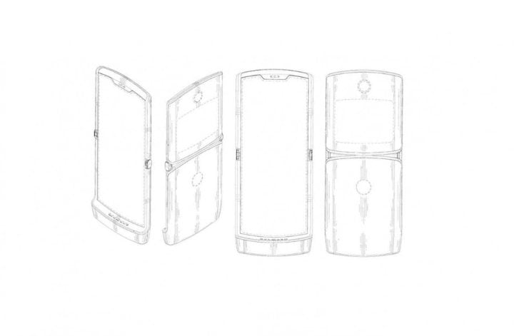 Motorola Razr kehrt als faltbares Smartphone zurück