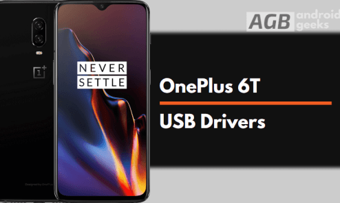Download OnePlus 6T Drivers for Windows and Mac