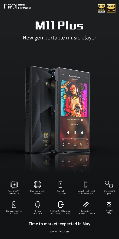 FiiO Portable HiFi Music Player M11 Plus LTD (3)