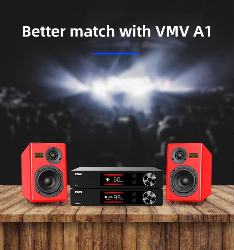 S.M.S.L VMV D1se ES9038Pro MQA DAC