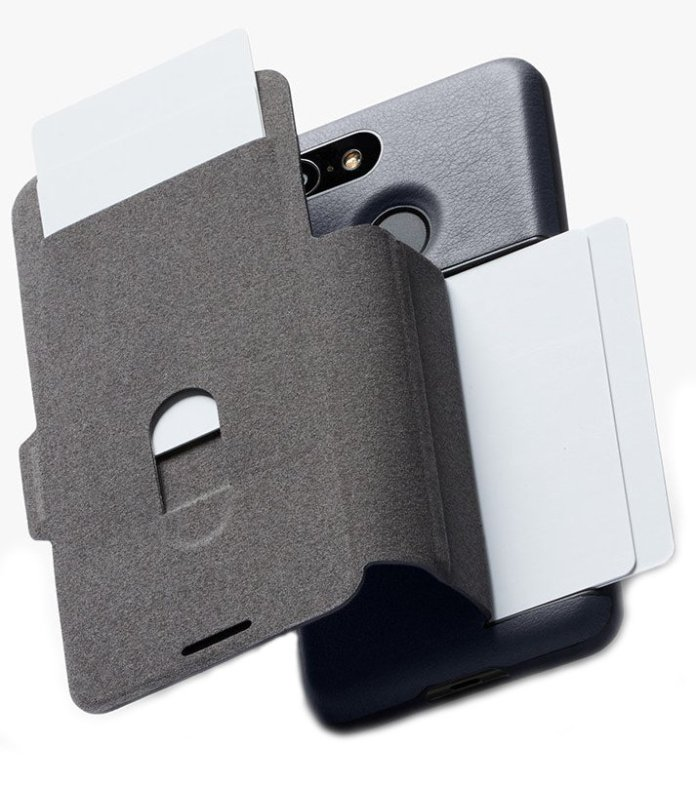 Wallet + phone case = a great idea for Pixel 3 XL users