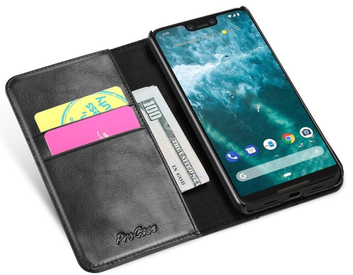 Best sophisticated leather cases for the Google Pixel 3 XL