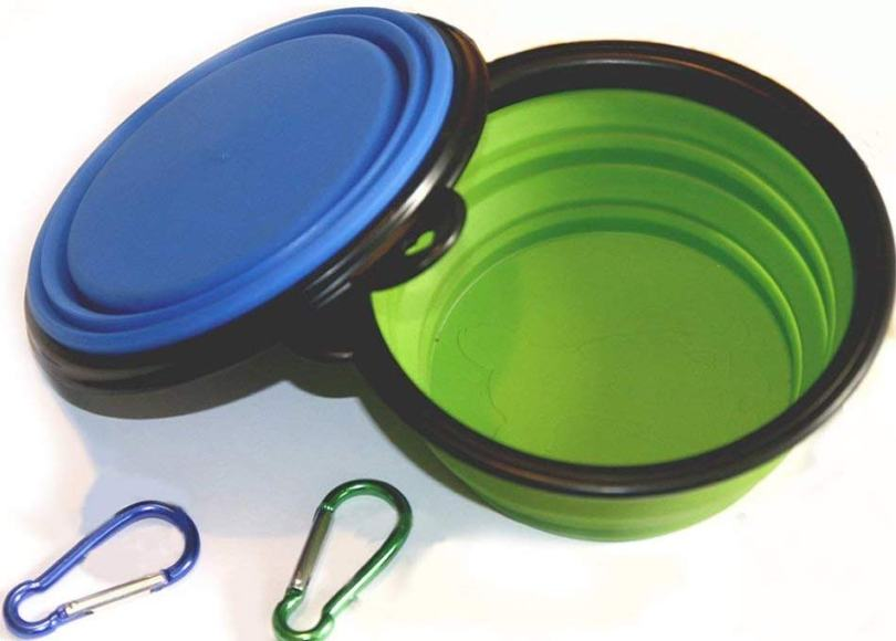 Comsun collapsible food bowls for dogs
