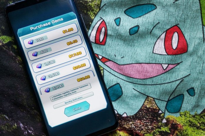 Whats the best way to add gems to your childs account in Pokémon Masters?