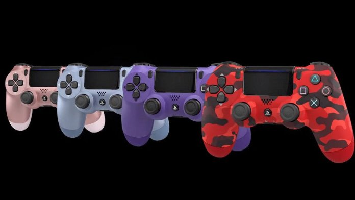 Four more DualShock 4 controllers are coming in September