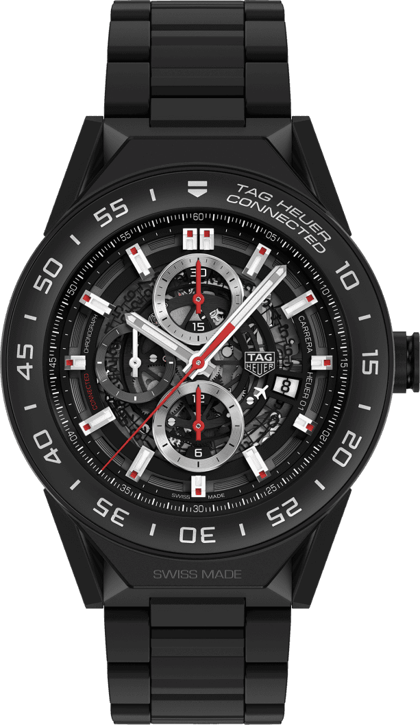 TAG Heuer Connected Modular 45 in black