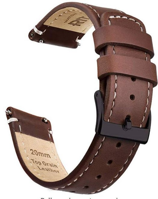 Ritche leather watch band