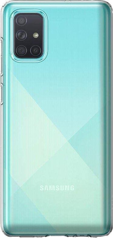 Spigen Liquid Crystal Galaxy A71 Cropped Render