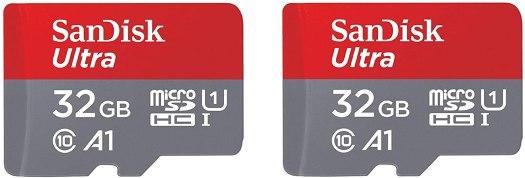 Sandisk Ultra Microsd 2 Pack