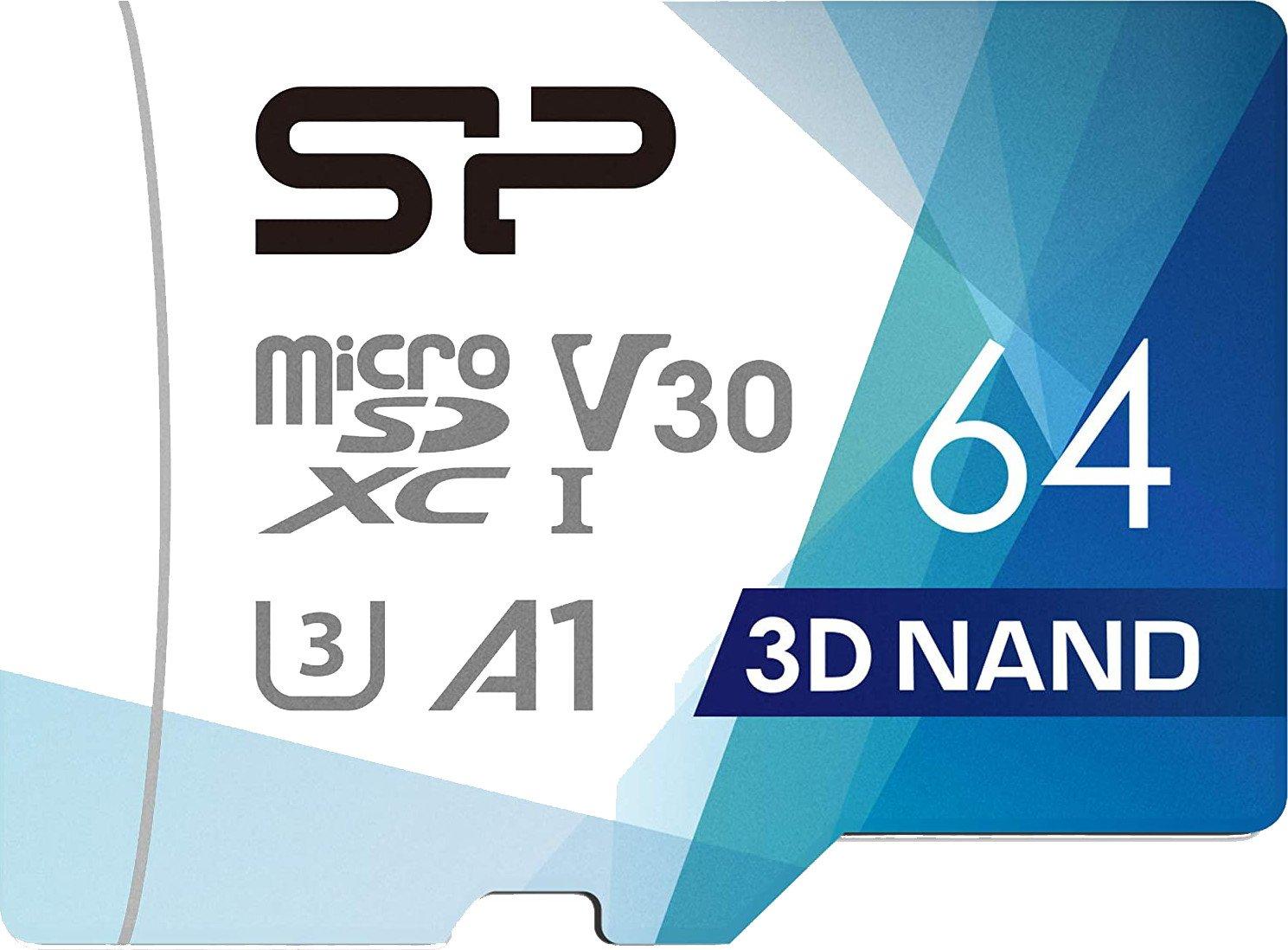 Silicon Power 64GB MicroSD Card trial