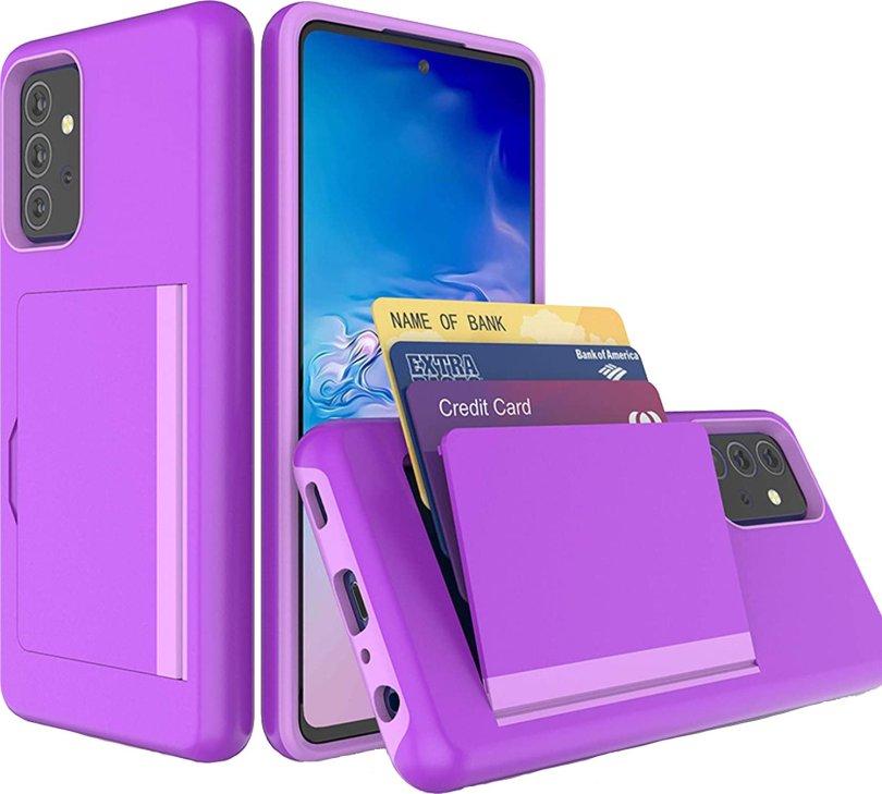 BAISRKE Wallet Case Galaxy A72 Render