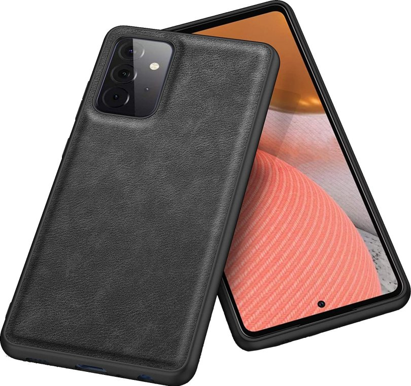 Kqimi Leather Cover Galaxy A72 Render