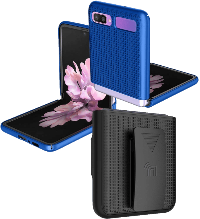 Nakedcellphone Cobalt Blue Snap On Cover Holster Png Reco