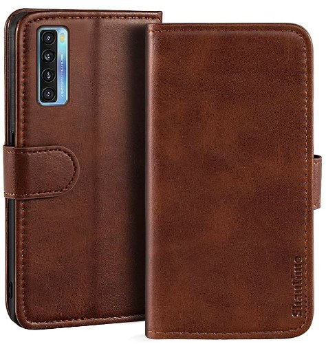 Shantime Tcl 20s Leather Wallet Case