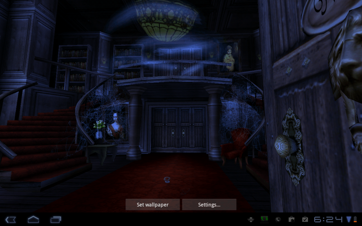 Haunted House 3d Live Wallpaper Download Android Wallpaper Review Haunted House Hd Android Central